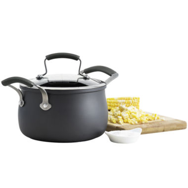 jcpenney.com | Epicurious® 3-qt. Hard-Anodized Soup Pot with Lid