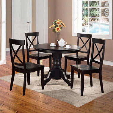 Copley cove 5 pc dining set for Jcpenney dining room chairs