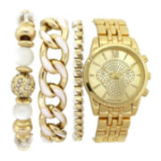 Womens Watch and Bracelet Set