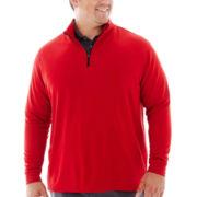 PGA TOUR® Quarter-Zip Pullover Shirt–Big & Tall