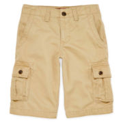 Arizona Twill Cargo Shorts - Boys 8-20, Slim and Husky