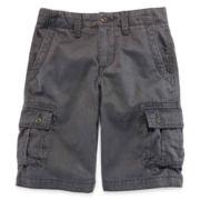 Arizona Twill Cargo Shorts – Boys 8-20, Slim and Husky