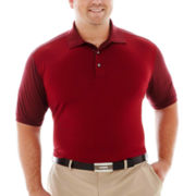 PGA TOUR® Mini-Jacquard Polo–Big & Tall
