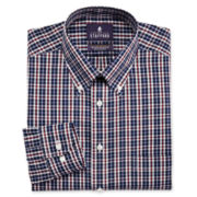 Stafford® Easy-Care Broadcloth Tartan Dress Shirt