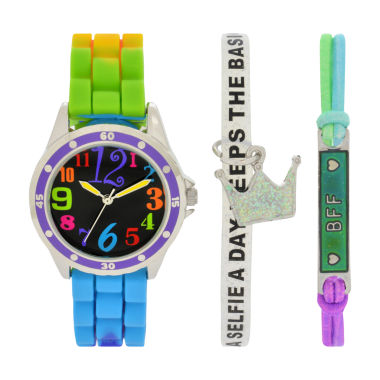 jcpenney.com | Total Girl Girls Multicolor Watch Boxed Set-Ttg1000jc
