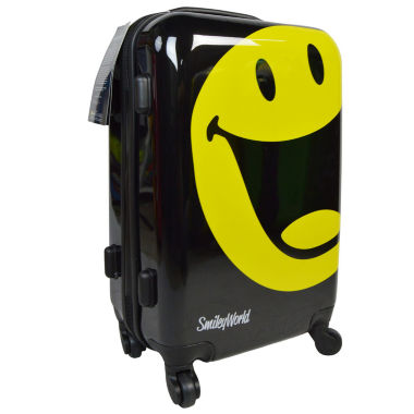 jcpenney.com | Smiley World Happy Hardside Carry-On Luggage