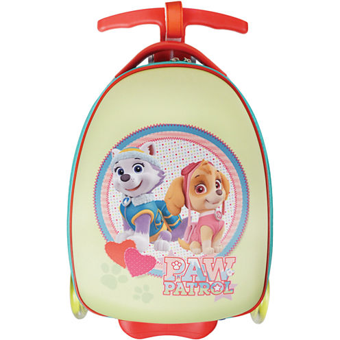 Girl Pup Duo Paw Patrol Hardside Luggage