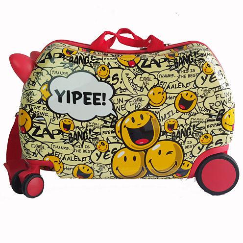 Smiley Cruizer Yippee Hardside Luggage