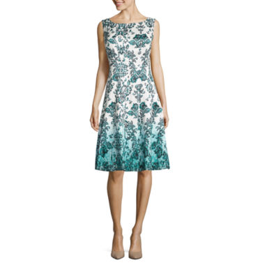 jcpenney.com | Be by CHETTA B Sleeveless Fit & Flare Dress