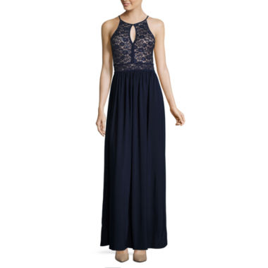 jcpenney.com | R & M Richards Sleeveless Fitted Gown-Talls