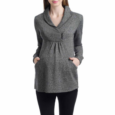 jcpenney.com | Momo Baby Long Sleeve Pullover Sweater-Maternity