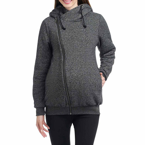 Momo Baby Kenzie Long Sleeve Pullover Sweater-Maternity