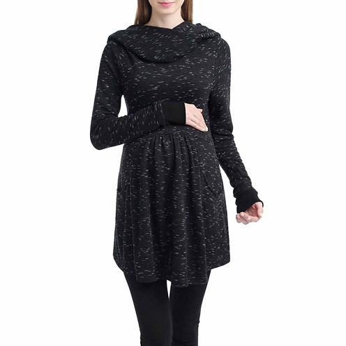 Momo Baby Desarae Long Sleeve Pullover Sweater-Maternity