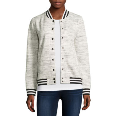 jcpenney.com | Inspired Hearts Bomber Jacket-Juniors
