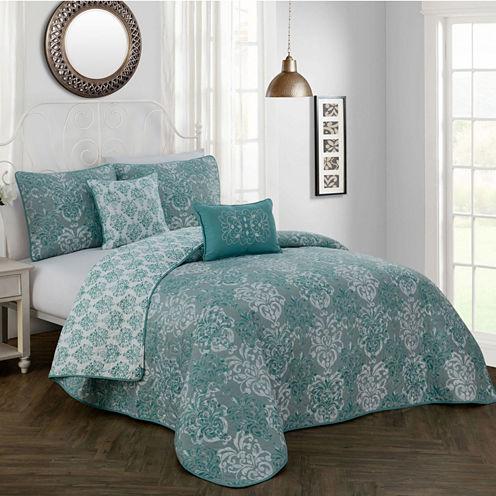 Avondale Manor Delphine 5-pc. Quilt Set