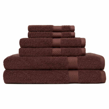 jcpenney.com | Carefree Comforts™ Ringspun 6-pc. Towel Set