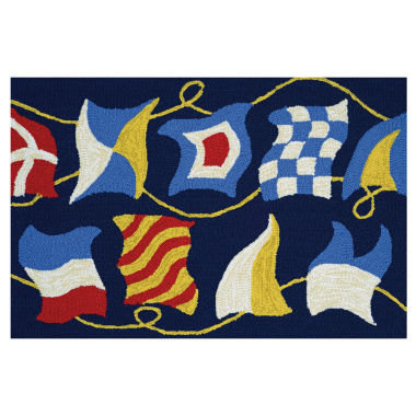 jcpenney.com | Couristan Regatta Hooked Rectangle Accent Rug