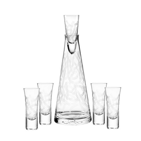 Qualia Glass Malibu 6-pc. Decanter Set