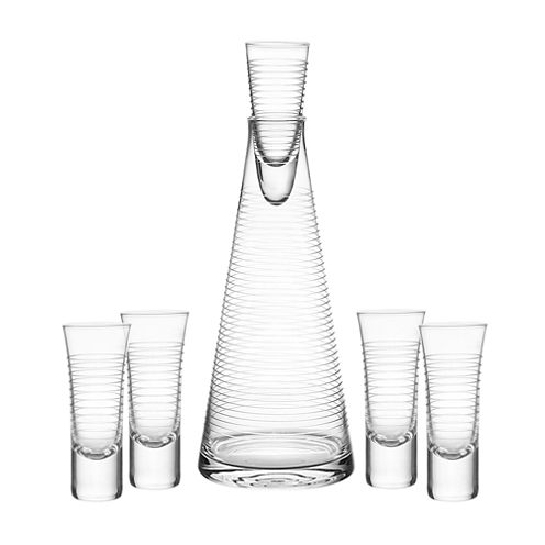 Qualia Glass Pacifica 6-pc. Decanter Set