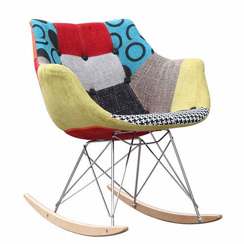 Ginger Rocker Arm Chair