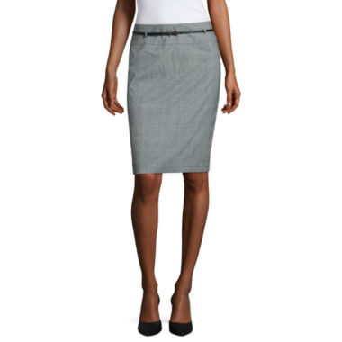 jcpenney.com | Liz Claiborne Belted Pencil Skirt
