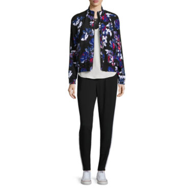 jcpenney.com | Belle + Sky Track Jacket, Track Pants & Colorblock Top
