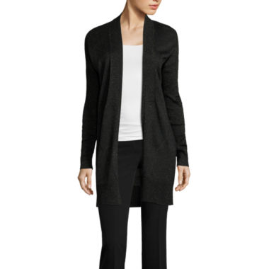jcpenney.com | Worthington Long Sleeve V Neck Cardigan
