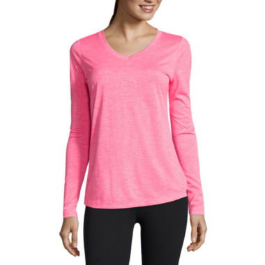jcpenney.com | Xersion™ Long-Sleeve Mélange Tee