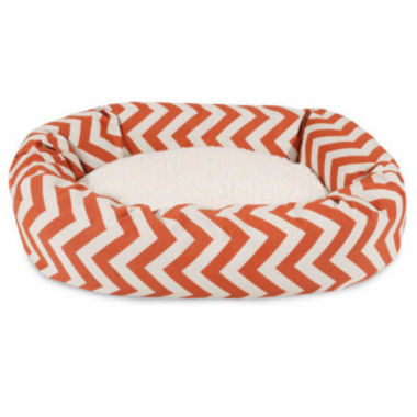 jcpenney.com | Majestic Pet Chevron Sherpa Bagel Dog Bed