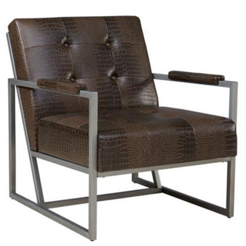 INK+IVY Waldorf Tufted Fabric Club Chair