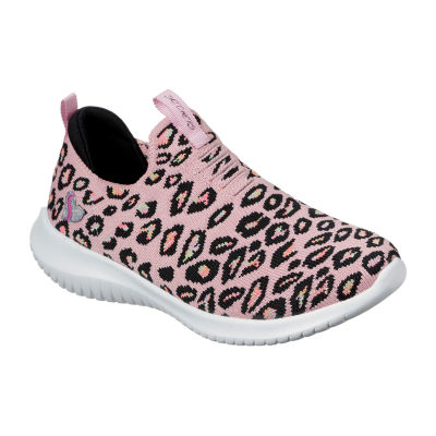 Skechers Ultra Flex Wild and Free Girls Sneakers, Color: Pink Multi -  JCPenney