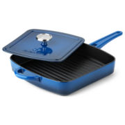 Simply Calphalon® Enameled Cast Iron Panini Pan