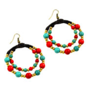 Pannee Double Loop Rope Earrings