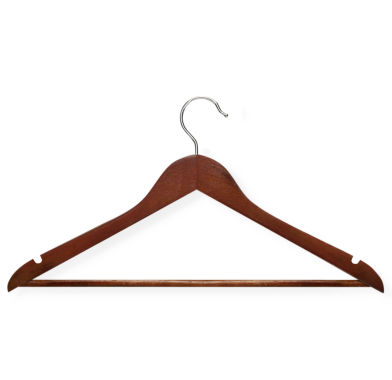 jcpenney.com | Honey-Can-Do® 24-Pack Nonslip Bar Wood Suit Hangers