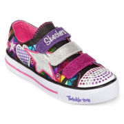 Skechers® Shuffles Classy Sassy Girls Light-Up Shoes - Little Kids
