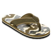 Arizona Camo Boys Flip Flops - Little Kids/Big Kids