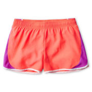 Xersion™ Coral Colorblock Running Shorts - Girls 6-16 and Plus