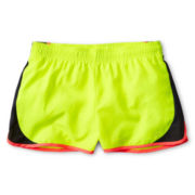 Xersion™ Yellow Colorblock Running Shorts - Girls 6-16 and Plus