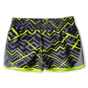 Xersion™ Gray Zigzag Running Shorts - Girls 6-16 and Plus
