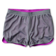 Xersion™ Reversible Mesh Dolphin Shorts - Girls Plus