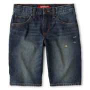 Arizona Denim Shorts - Boys 8-20, Slim and Husky