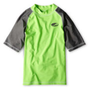 Arizona Island Lime Rashguard - Boys 6-18