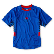 adidas® Tech Short-Sleeve Performance Shirt - Boys 2t-7x