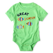Joe Fresh™ Neon Bodysuit - Boys 3m-24m