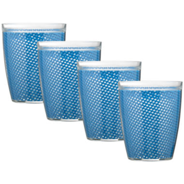 jcpenney.com | Kraftware Fishnet Set of 4 14-oz. Doublewall Glasses
