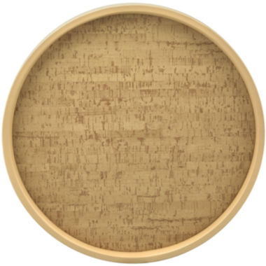 "jcpenney.com | Kraftware 14"" Natural Cork Serving Tray"