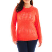 a.n.a® Pointelle Sweater - Plus