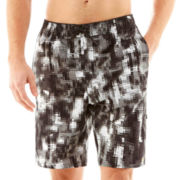 Nike® Techno Camo Swim Trunks
