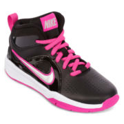 Nike® Hustle D6 Girls Basketball Shoes - Little Kids