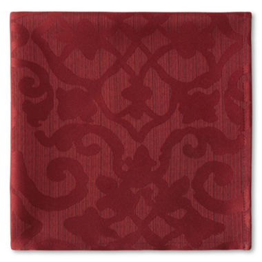 jcpenney.com | Royal Velvet® Helmsley Damask Set of 4 Napkins